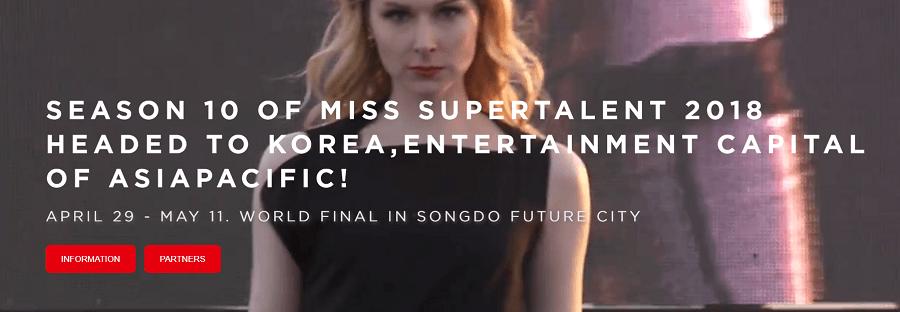 Miss Super Talent Season 10 in South Korea 2018 Wixlar Sponsors