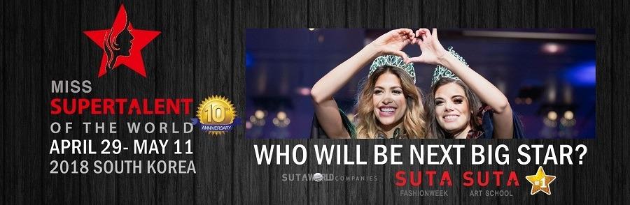 Wixlar Sponsors Miss SuperTalent 2018 Season 10 Songdo SouthKorea
