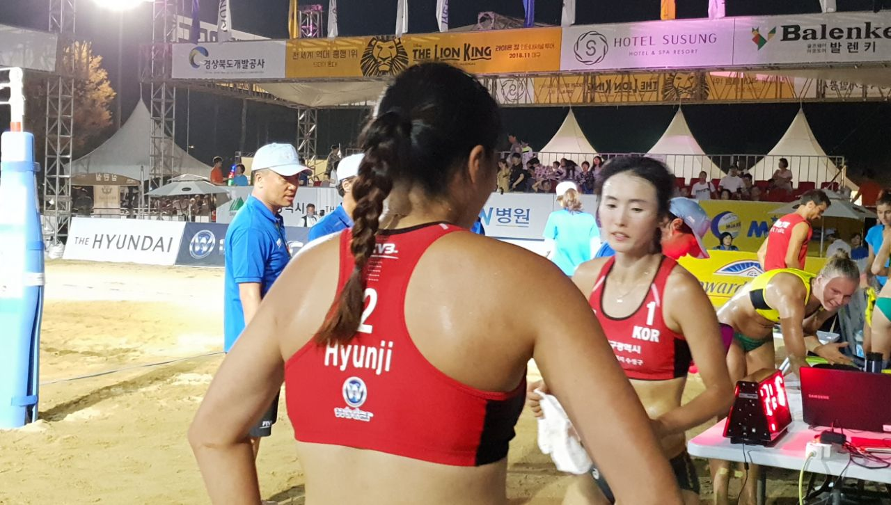 Wixlar Sponsors the Global Beach Volley Ball Tournament 2018 in South Korea