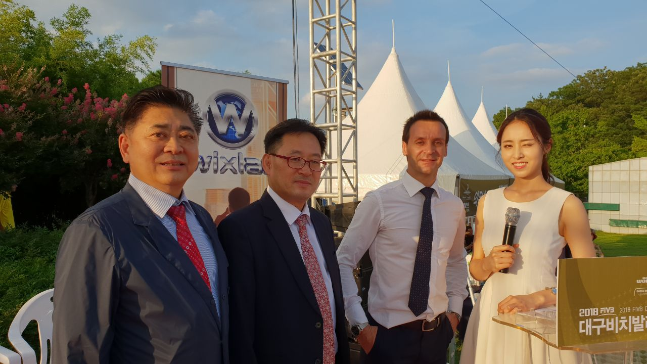 Wixlar ICO Sponsors the World Beach Volley Ball Tournament 2018 in Asia