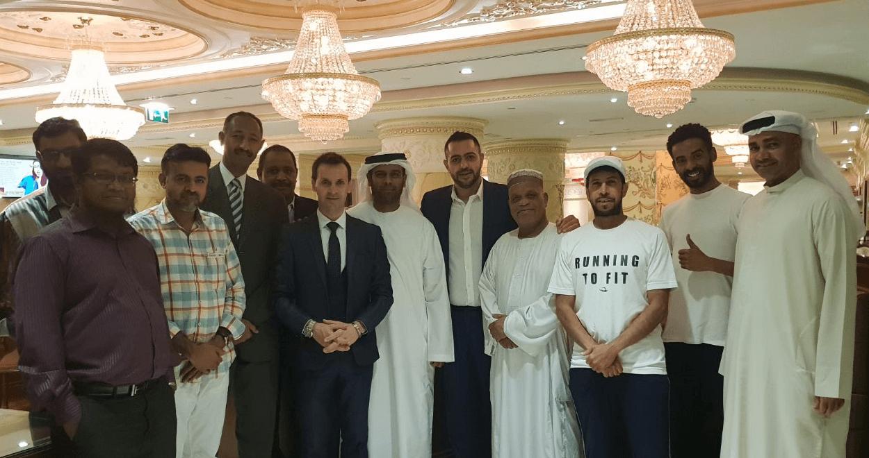 Wixlar Meeting Blockchain Friends Event Dubai