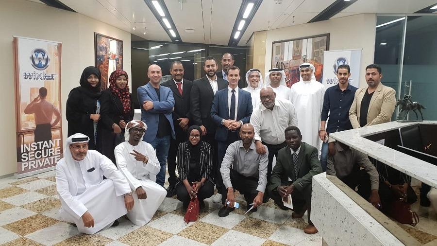 Wixlar AbuDhabi World Trade Center Blockchain Office 2018
