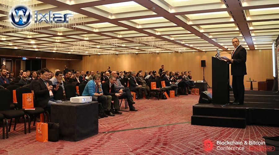 Wixlar at Blockchain Bitcoin Conference Switzerland Europe