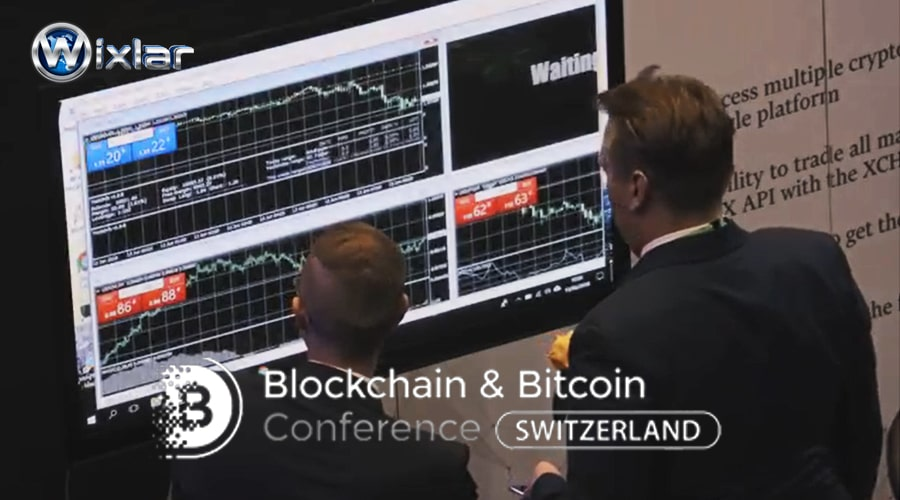Wixlar at Blockchain & Bitcoin Conference Switzerland ICO TGE-min