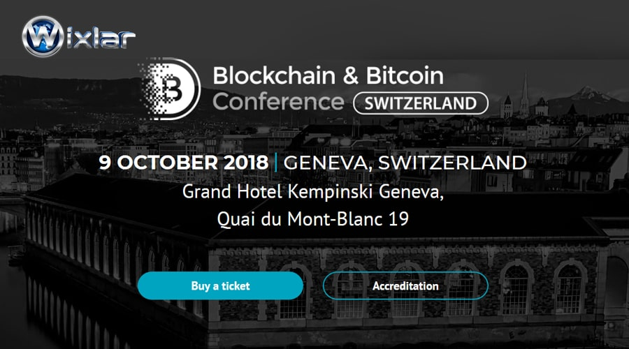 Wixlar at Blockchain & Bitcoin Conference Switzerland-min