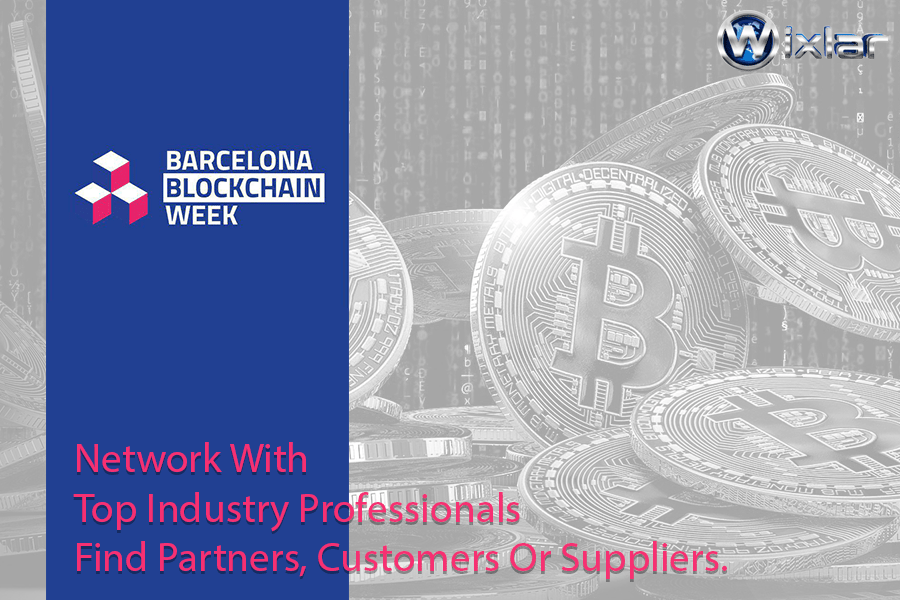 Barcelona Blockchain Week Event in Spain with Wixlar Coin-min