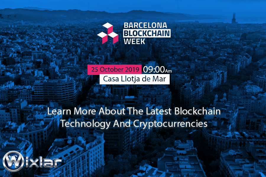 Barcelona Blockchain Week Event in Spain with Wixlar Group-min