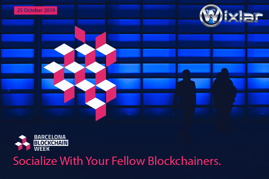 Barcelona Blockchain Week Event in Spain with Wixlar Token-min