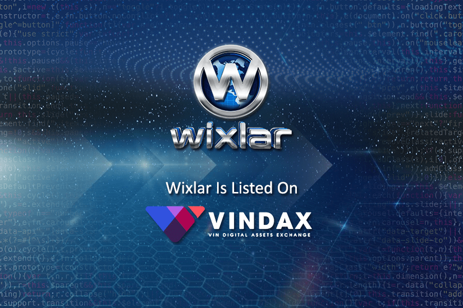 Wixlar Token Listed on Vindax Exchange CMC-min